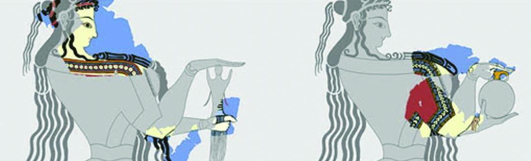 Η συνολική εικόνα: επανεξετάζοντας το πλαίσιο θέασης τοιχογραφιών από την Τίρυνθα