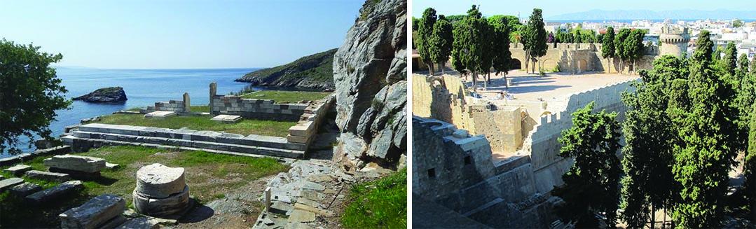 Αρχαία Καρθαία Κέας & Προμαχώνας Παλατιού Μεγάλου Μαγίστρου – Βραβείο για την Πολιτιστική Κληρονομιά 2017