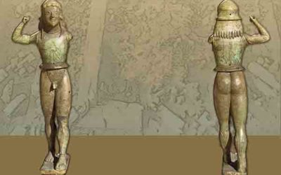 Αρχαϊκά ιερά στην περιοχή ίδρυσης της μεταγενέστερης πόλης της Μητρόπολης στη ΝΔ Θεσσαλία