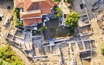 Διάκριση ανασκαφής αστικής έπαυλης στο λιμάνι της Θάσου