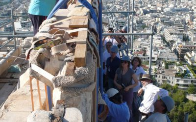 Nέα φάση εργασιών ξεκινά στα μνημεία της Ακρόπολης