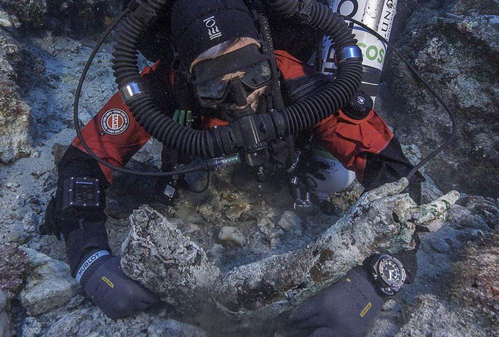 Υποβρύχια Ανασκαφή Ναυαγίου Αντικυθήρων