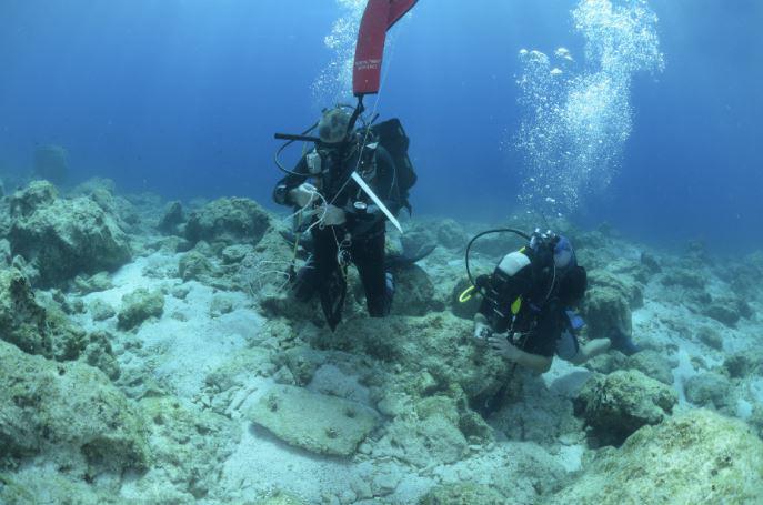 Υποβρύχια έρευνα στις νότιες ακτές της Νάξου