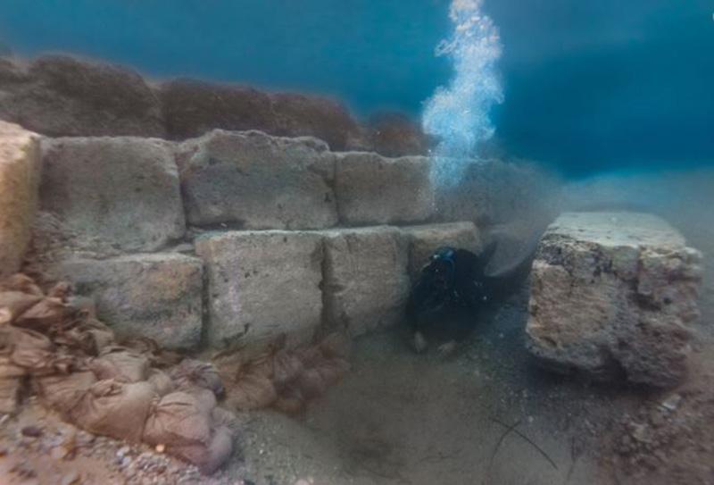Τα αποτελέσματα της φετινής ερευνητικής περιόδου στο αρχαίο λιμάνι του Λεχαίου