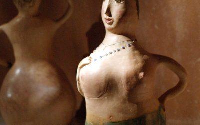 Λουόμενες: Έκθεση Kεραμικής της Αναστασίας Κομσέλη