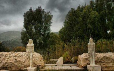 Βανδαλισμός του ιερού των Αιγυπτίων θεών στον Μαραθώνα