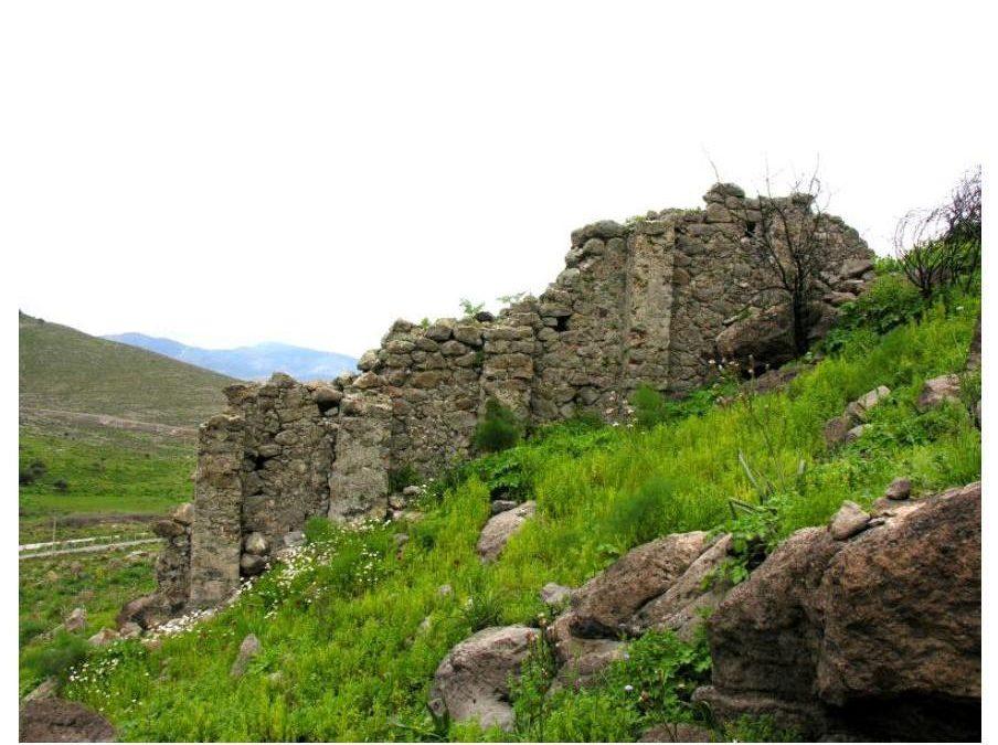 Το κάστρο του Στρόβιλου στη χερσόνησο της Αλικαρνασσού