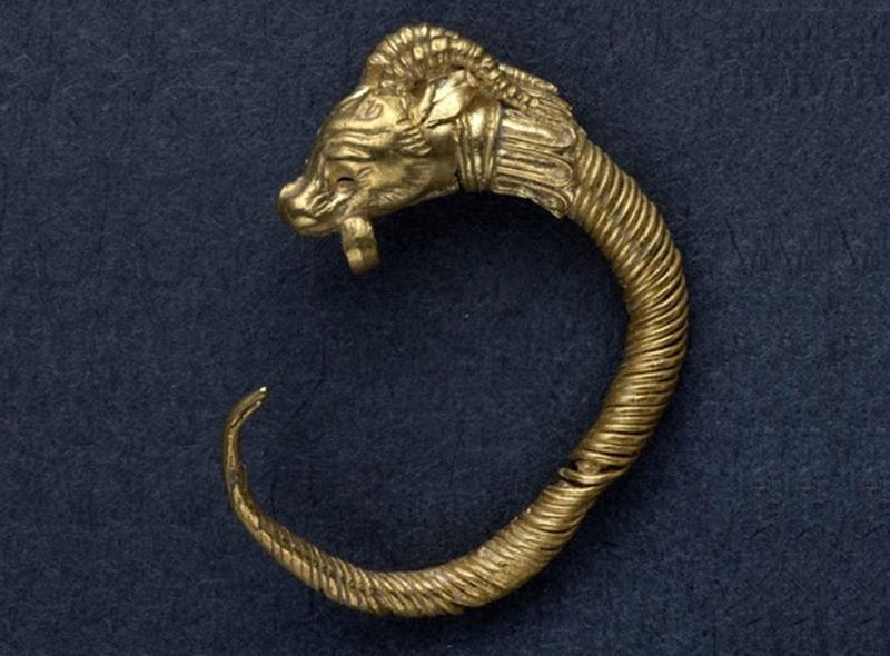Χρυσό ενώτιο πρώιμης ελληνιστικής περιόδου ανακαλύφθηκε στην Ιερουσαλήμ
