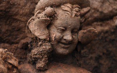 Κοτύωρα Πόντου: βρέθηκαν αγάλματα του Διονύσου και του Πάνα