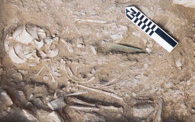 Νέα ευρήματα στο νεκροταφείο του Πετρά Σητείας