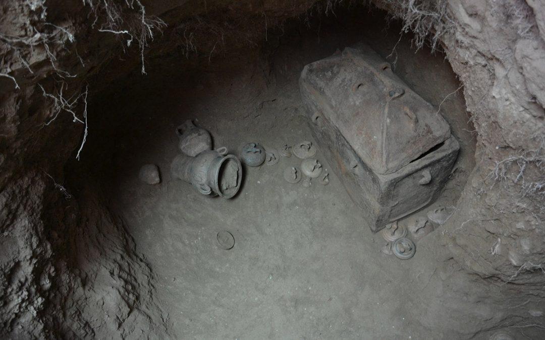 Ανασκαφή ασύλητου θαλαμοειδούς τάφου στην Ιεράπετρα