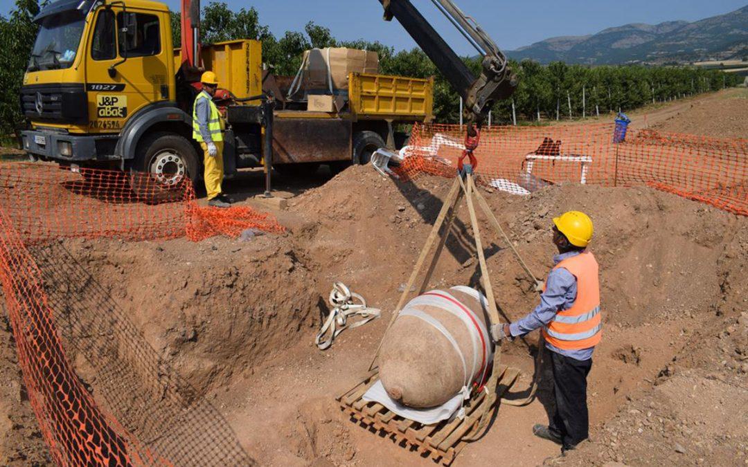 Σημαντικά ευρήματα από τις ανασκαφές για τον ΤΑΡ στη Δυτική Μακεδονία