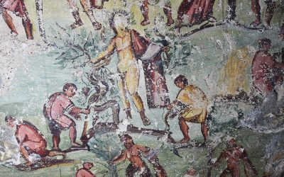 Τα πρώτα ελληνοαραμαϊκά κόμικς της ιστορίας σε τάφο της Καπιτωλιάδος στην Ιορδανία