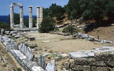 Ολοκλήρωση των εργασιών στο Ιερό των Μεγάλων Θεών στη Σαμοθράκη