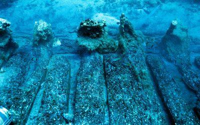 Υποβρύχια αρχαιολογική ανασκαφή στο ναυάγιο « Μέντωρ»