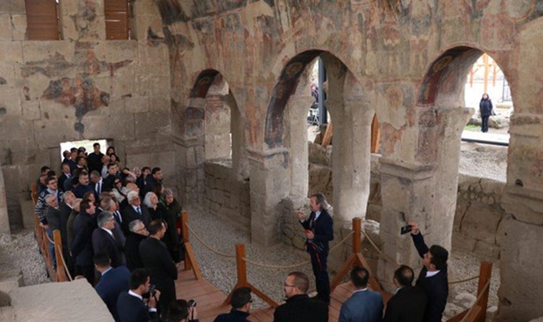 Αποκαταστάθηκε βυζαντινή εκκλησία του 6ου αιώνα στα Τύανα της Καππαδοκίας