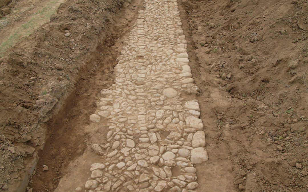 Στο φως τμήματα της αρχαίας Εγνατίας οδού στην Κομοτηνή