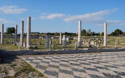 Ανάδειξη του ανακτόρου της αρχαίας Πέλλας