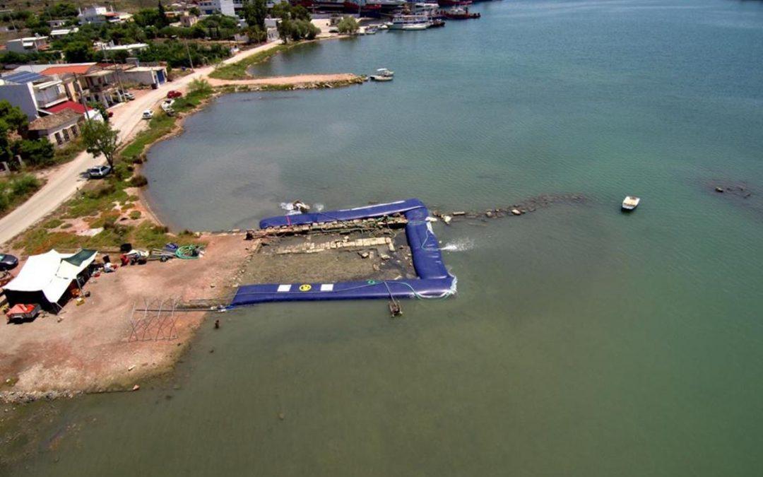 Αποτελέσματα υποβρύχιας έρευνας στη Σαλαμίνα το 2018