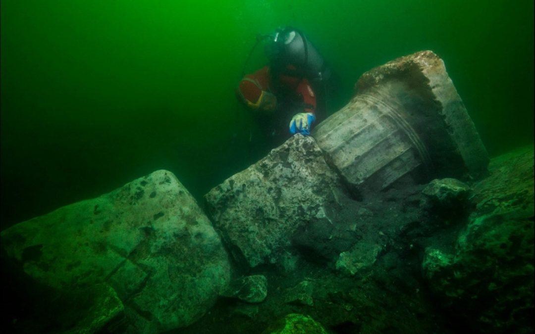 Ανακάλυψη ελληνικού ναού σε βυθισμένη πόλη της Αιγύπτου