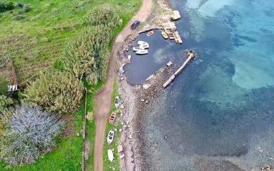 Ανθηδών: Το αρχαίο ελληνικό λιμάνι με τις 100 τριήρεις