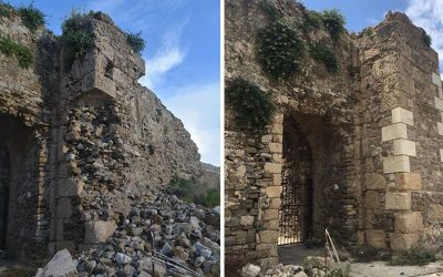 Αποκατάσταση της Porta del Mandrachio Κάστρου Μεθώνης