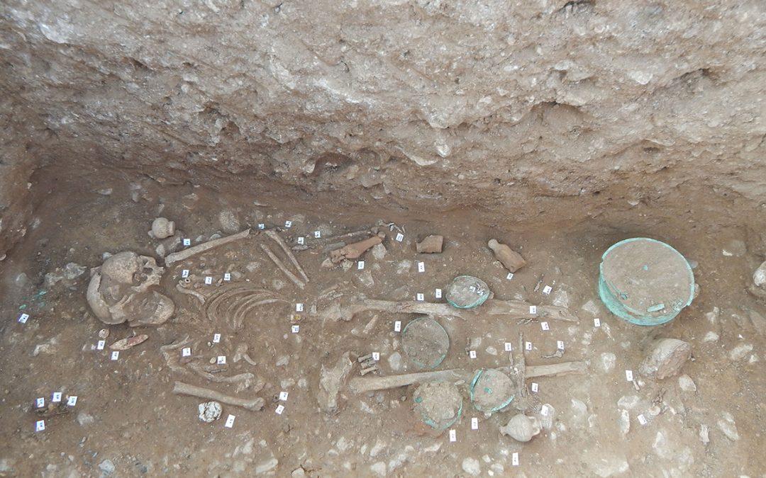Πρόσφατα αρχαιολογικά ευρήματα από την Αχλάδα Φλώρινας