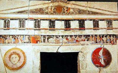 Ο Μακεδονικός Τάφος ΙΙΙ στον Άγιο Αθανάσιο. Συμπόσιο, Χρώμα και όνειρο στη γη των Μακεδόνων