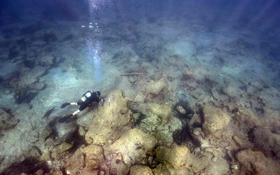 Ενάλιες έρευνες έφεραν στο φως 800 αμφορείς και κυματοθραύστη στο Ακρωτήρι-Νησιαρούιν Κύπρου