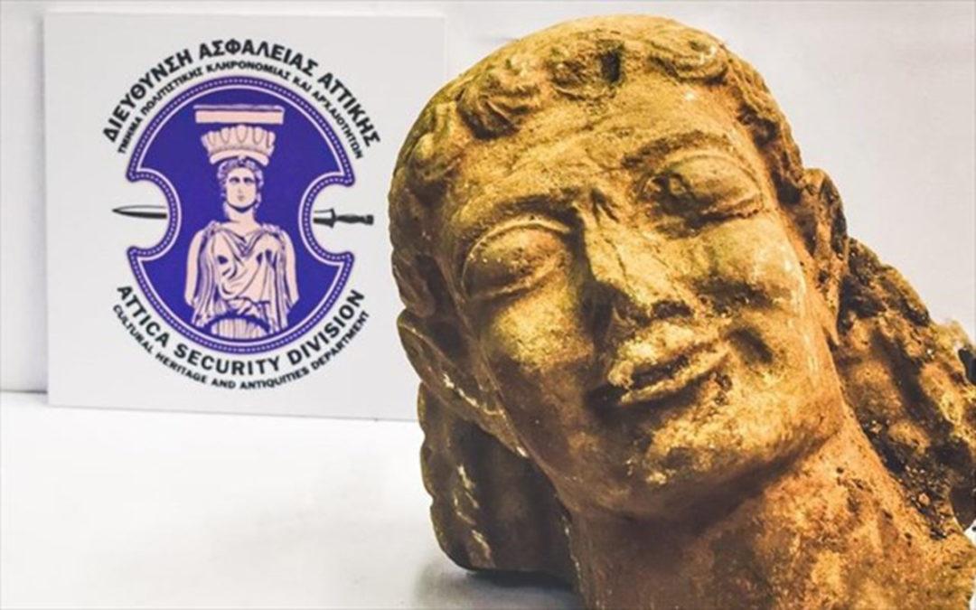 Εντοπίστηκε μοναδικής αρχαιολογικής αξίας κεφαλή αρχαϊκού Κούρου