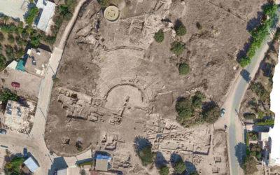 Ανασκαφές στον Λόφο Φάμπρικας, (Νέα Πάφος), Ελληνιστικό-Ρωμαϊκό Θέατρο