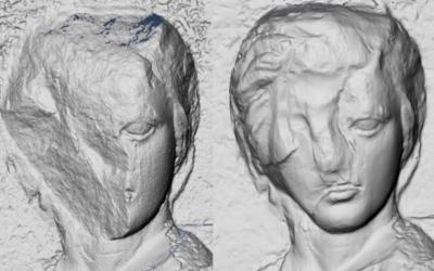 Τρισδιάστατες απεικονίσεις αποκαλύπτουν φθορές στα γλυπτά του Παρθενώνα