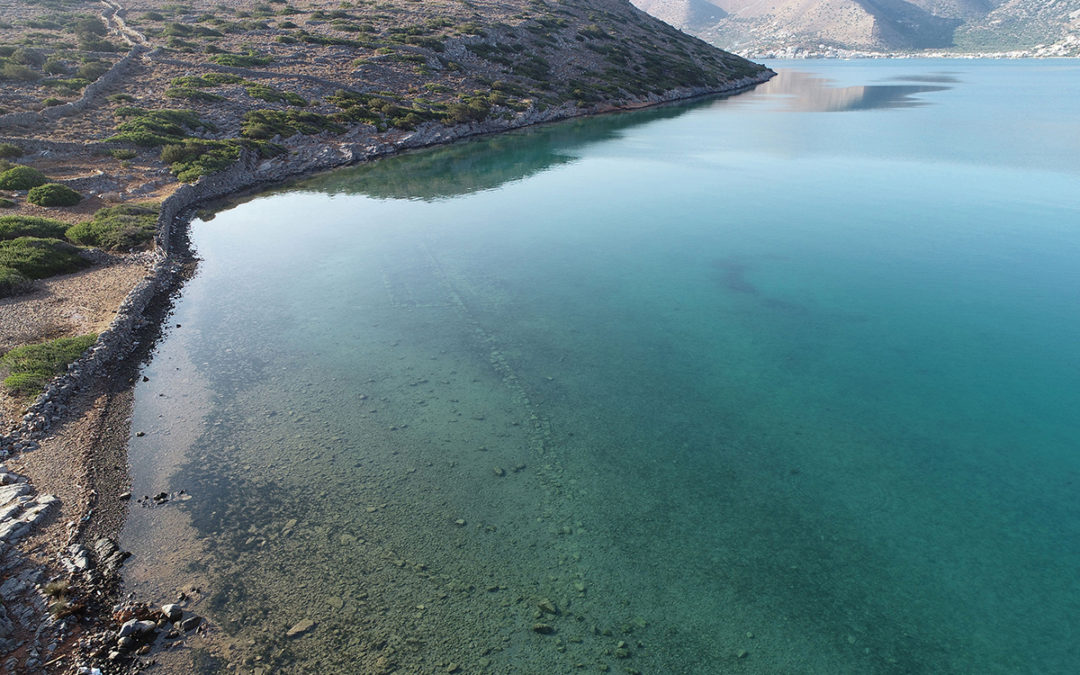 Υποβρύχια έρευνα στον αρχαίο Ολούντα και το λιμάνι της Ιεράπετρας στην Κρήτη