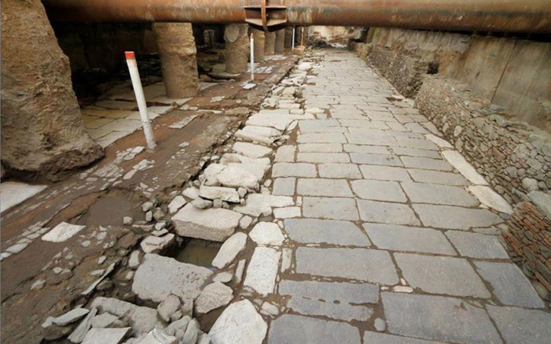 Ο Παναγιώτης Λ. Βοκοτόπουλος μιλά για τα αρχαία στο Μετρό Θεσσαλονίκης