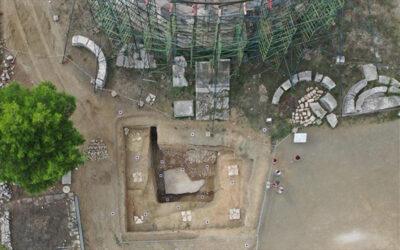 Η ανακάλυψη οικοδομήματος κάτω από τη Θόλο στο Ασκληπιείο Επιδαύρου ρίχνει νέο φως στο ιερό του Ασκληπιού