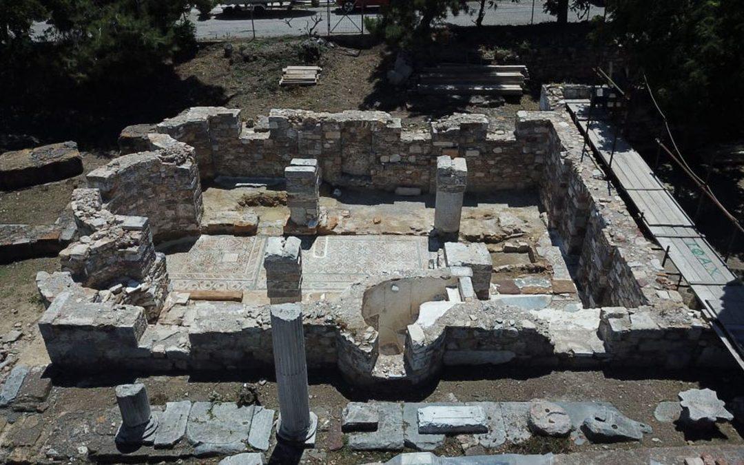 Άγιος Ισίδωρος Χίου: αναδόμηση του ναού του και δημιουργία αρχαιολογικού πάρκου