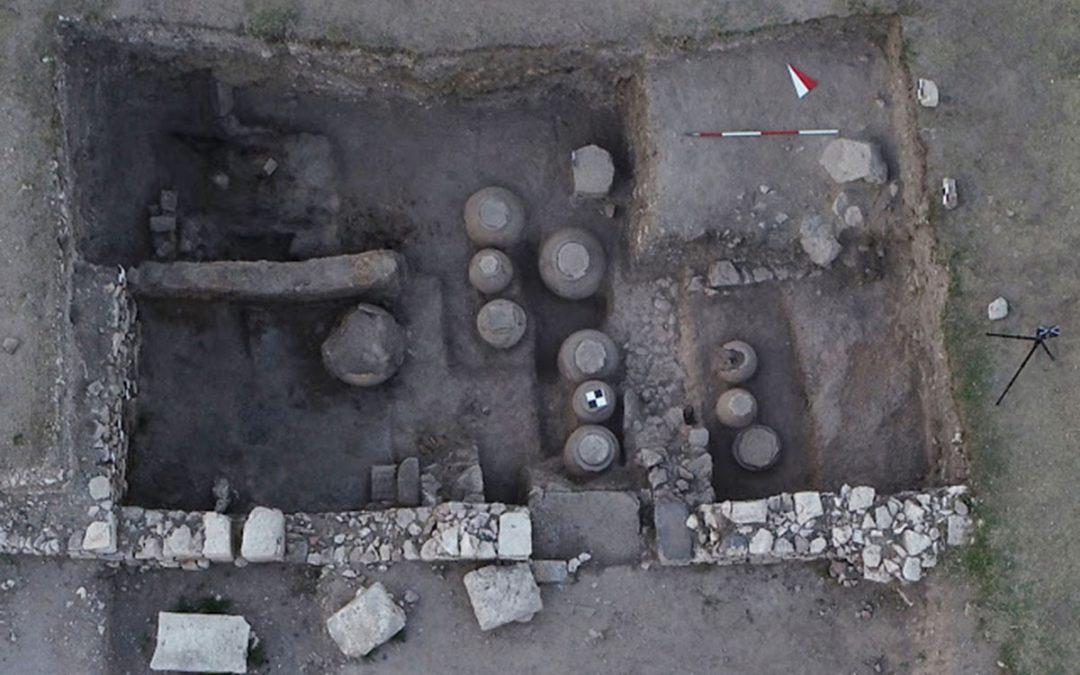 Βυζαντινή σιταποθήκη βρέθηκε στην αρχαία ελληνική πόλη του Αμορίου στην κεντρική Μικρά Ασία