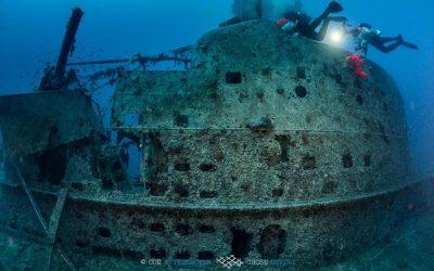 Υποβρύχιες επισκέψεις στο ναυάγιο του βρετανικού υποβρυχίου «Περσεύς»