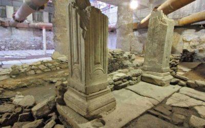 Η Δέσποινα Κουτσούμπα και ο Γιάννης Θεοχάρης μιλούν για τα αρχαία του Σταθμού Βενιζέλου Θεσσαλονίκης