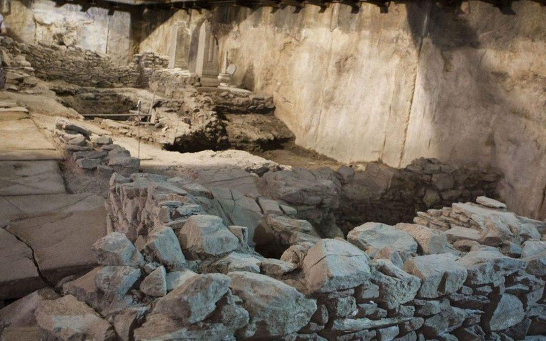 Ο John Haldon μιλά για τα αρχαία του Σταθμού Βενιζέλου Θεσσαλονίκης