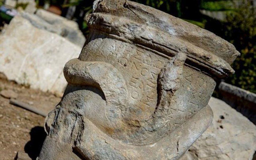 Στο φως βωμός 2.000 ετών με ελληνική γραφή, στα αρχαία Πάταρα