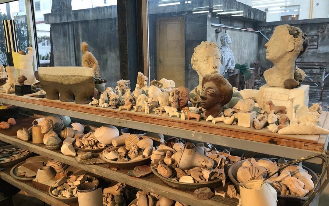 Προς κήρυξη, ως μνημείο, το εργαστήριο κεραμικής της Ελένης Βερναδάκη