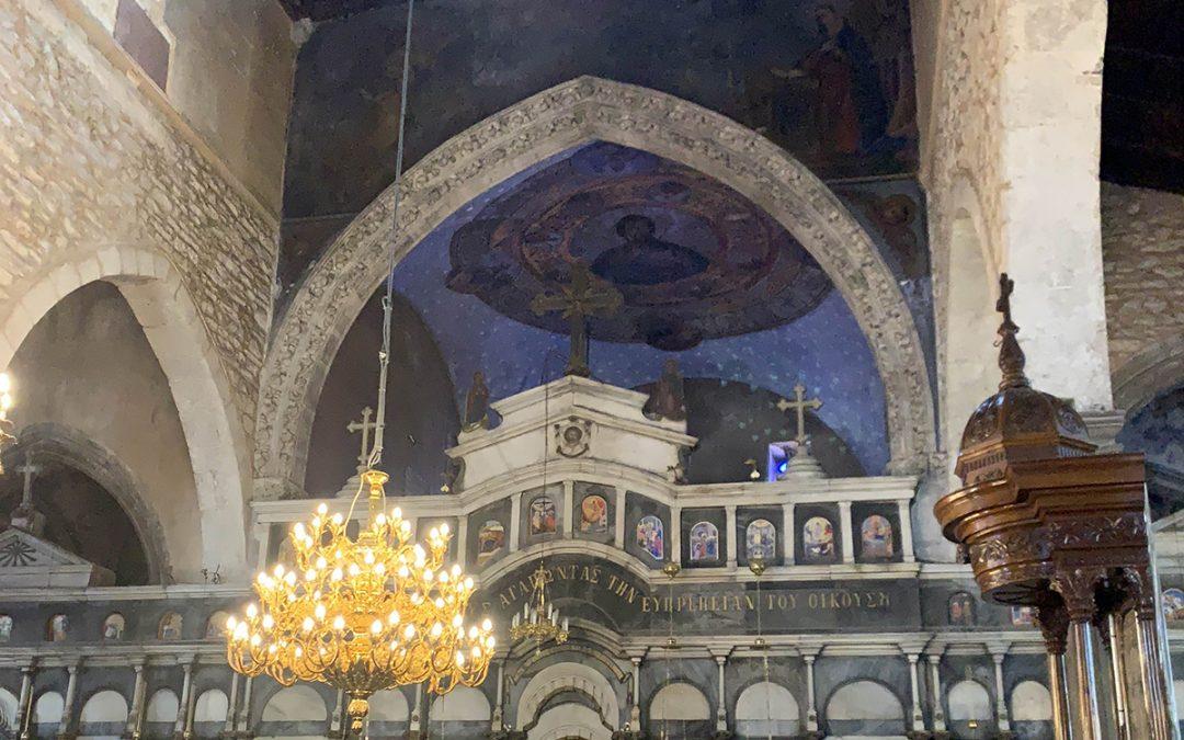 Αποκαθίσταται ο Ι. Ν. Αγίας Παρασκευής Χαλκίδας