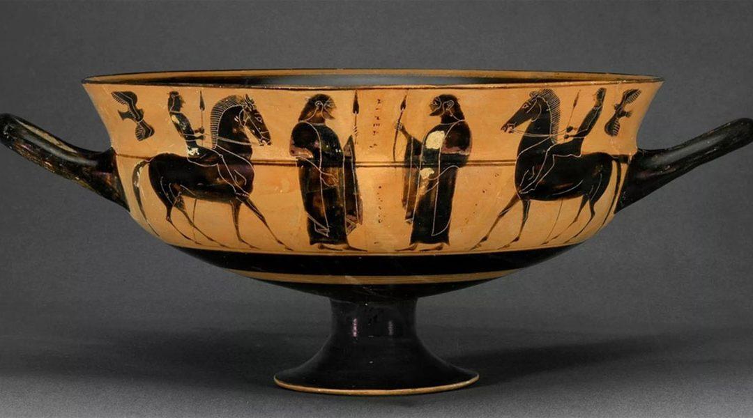 Έλληνας αρχαιολόγος εντόπισε λεηλατημένο ελληνικό αγγείο σε ολλανδικό μουσείο