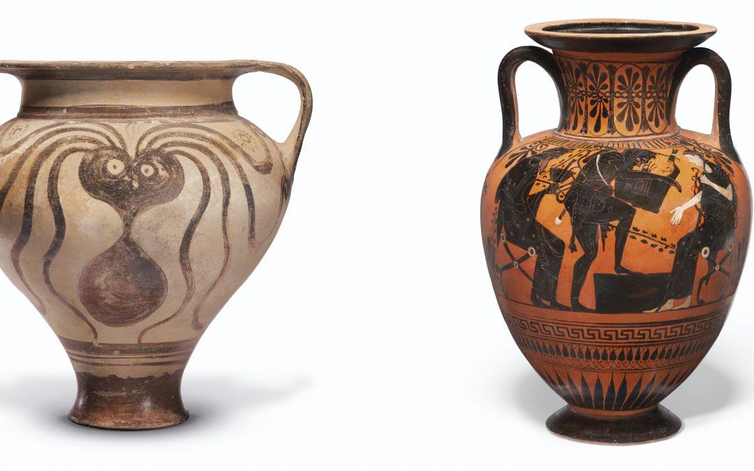 Σημαντικές ελληνικές αρχαιότητες δημοπρατήθηκαν τον Απρίλιο από τον Οίκο Christie's