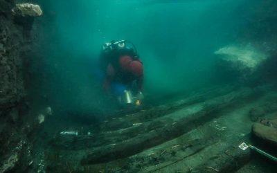Αρχαίο πολεμικό σκάφος ανακαλύφθηκε στη βυθισμένη πόλη Ηράκλειον