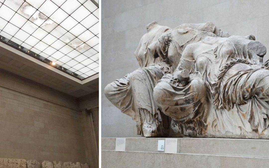 Απάντηση της Υπουργού Πολιτισμού και Αθλητισμού Λίνας Μενδώνη στο δημοσίευμα για την κατάσταση της αίθουσας των Γλυπτών του Παρθενώνα στο Βρετανικό Μουσείο