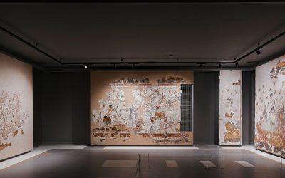 Εγκαίνια της έκθεσης των θηραϊκών τοιχογραφιών στο Μουσείο Προϊστορικής Θήρας